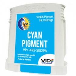 Cartucho de tinta VipColor Cyan Pigmento VP495