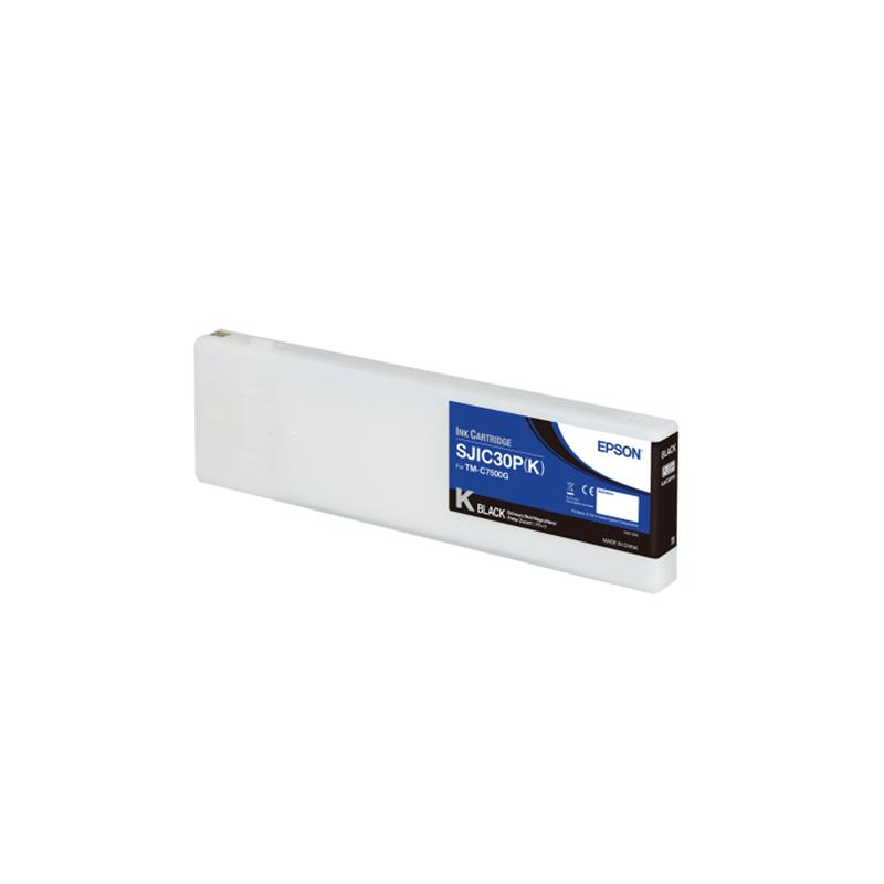 Cartucho de tinta color NEGRO Pigment Epson ColorWorks C7500G (SJIC30P(B))