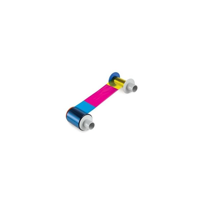 Cartucho con Ribbon YMCK medio panel (1000 impresiones)