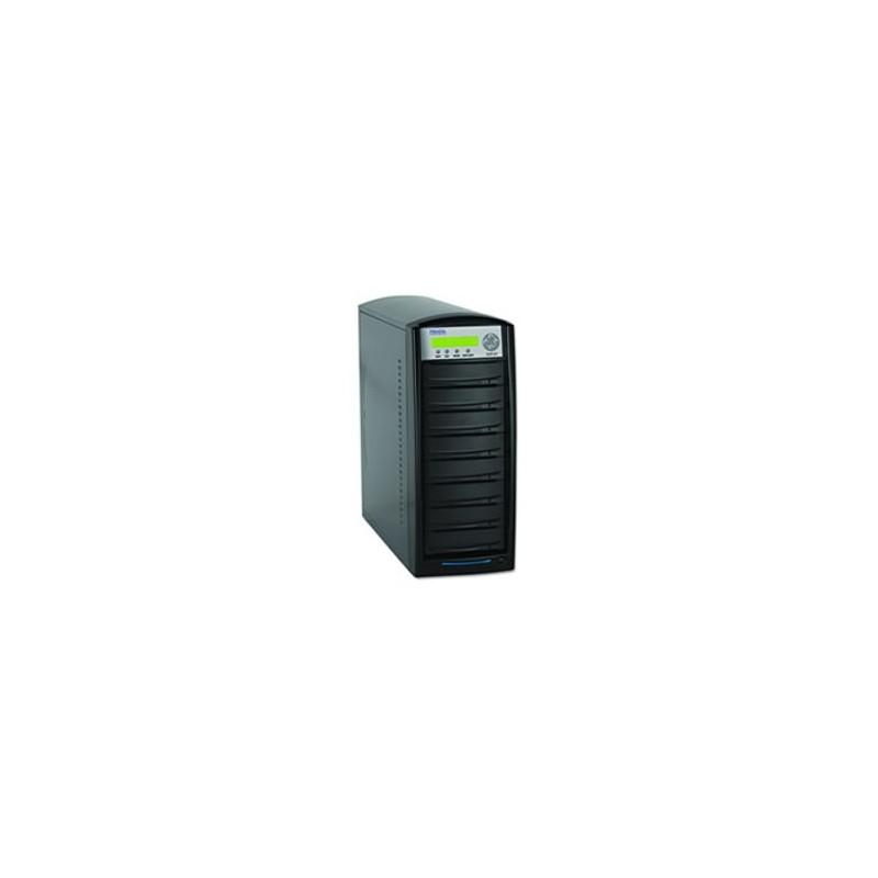 Primera DUP-08 Torre de duplicación 8 grabadoras CD/DVD, un lector, 500GB HDD