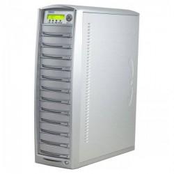 Primera DUP-11 Torre de duplicación 11 grabadoras CD/DVD, un lector, 500GB HDD