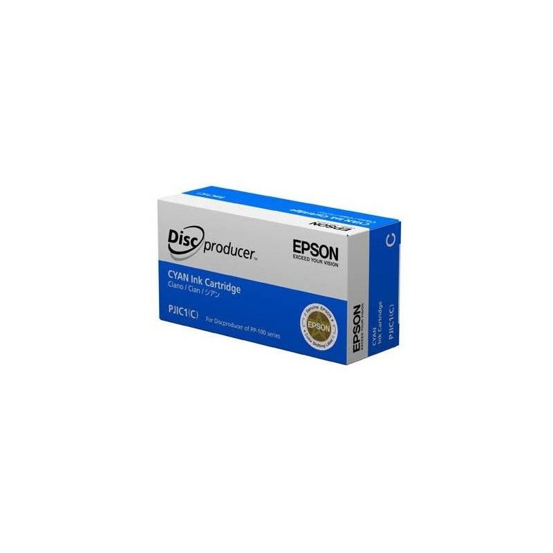 Cartucho de tinta CIAN para Epson Discproducer PP-Series (PJIC1(C))