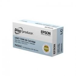 Cartucho de tinta color CIAN CLARO para Epson Discproducer PP-Series (PJIC2(LC))