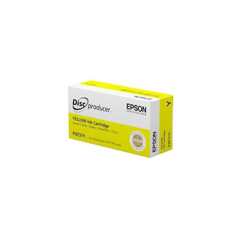 Cartucho de tinta AMARILLO para Epson Discproducer PP-Series (PJIC(Y))