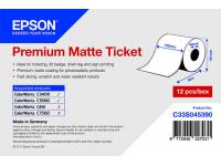 102 x 50 m Premium MATTE Epson Label - Continuo - C3400 series