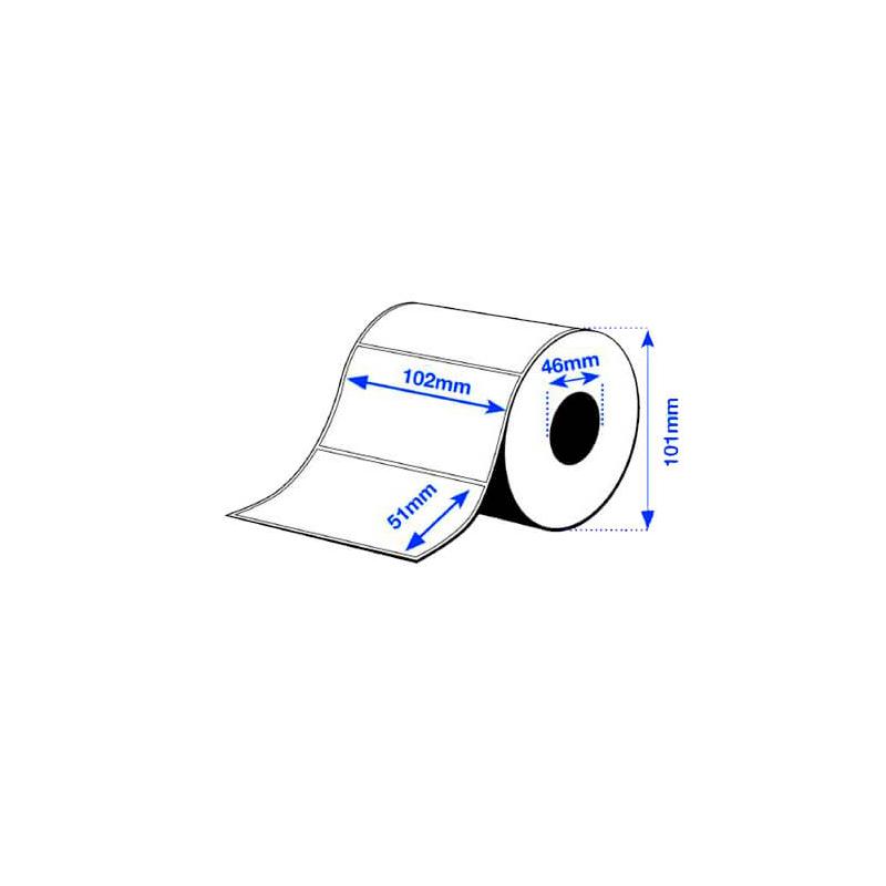 102 x 51 mm Premium MATTE Epson Label - 650 etiq - (C3400/C3500 series)
