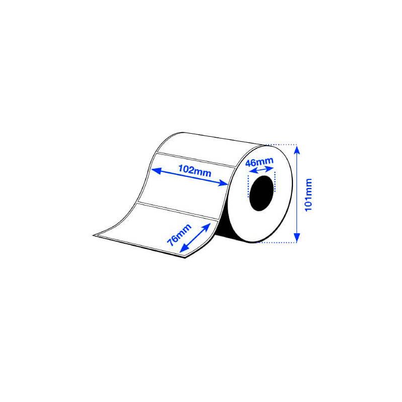 102 x 76 mm PE MATTE Epson Label - 365 etiquetas - (C3500 series)