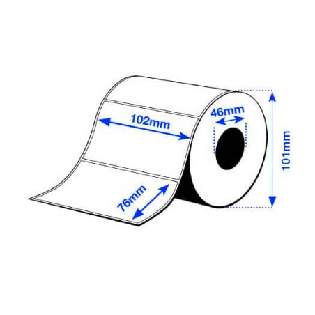 102 x 76 mm PE MATTE Epson Label - 365 etiq - C3500 series