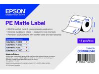 102 x 76 mm PE MATTE Epson Label - 365 etiquetas - (C3500 series)