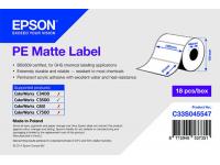 102 x 51 mm PE MATTE Label - 535 etiq - (C3500 series)