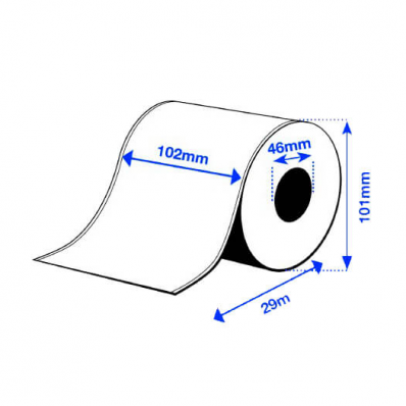 102 x 29 m PE MATTE Epson Label - Continuo - (C3500 series)