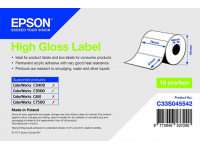 76 x 51 mm HIGH GLOSS Epson Label - 610 etiq - (C3500 series)