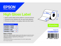 102 x 152 mm HIGH GLOSS Epson Label - 210 etiq - C3500 series