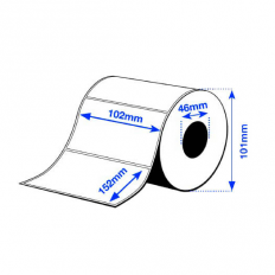 102 x 152 mm HIGH GLOSS Epson Label - 210 etiq - C3500 series