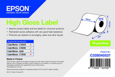 76 x 33 m HIGH GLOSS Epson Label - Continuo - (C3500 series)
