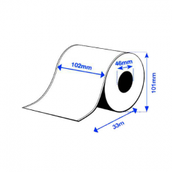 102 x 33 m HIGH GLOSS Epson Label - Continuo - (C3500 series)