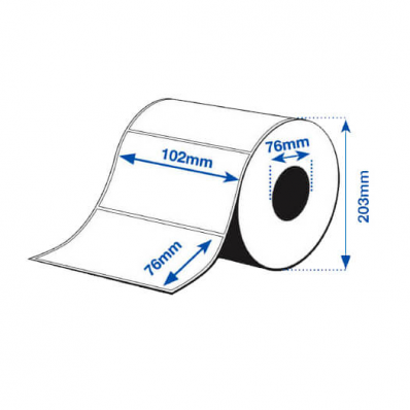 102 x 76 mm HIGH GLOSS Epson Label - 1570 etiq - (C7500G)