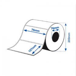 76 x 127 mm HIGH GLOSS Epson Label - 960 etiq - (C7500G)