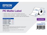102 x 76 mm PE MATTE Epson Label - 1570 etiq - (C7500/C7500G)
