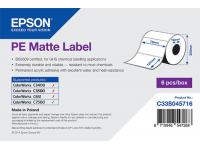 76 x 127 mm PE MATTE Epson Label - 960 etiq - (C7500/C7500G)
