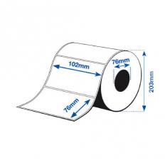 102 x 76 mm GLOSS Bopp Epson Label - 1890 etiq - (C7500G)