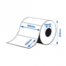 102 x 152 mm GLOSS Bopp Epson Label - 960 etiq - (C7500G)
