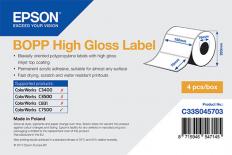 102 x 76 mm HIGH GLOSS Bopp Epson Label - 1890 etiq - (C7500G)
