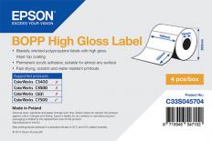 102 x 152 mm HIGH GLOSS Bopp Epson Label - 960 etiq - (C7500G)