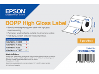 76 x 127 mm HIGH GLOSS Bopp Epson Label - 1150 etiq - (C7500G)