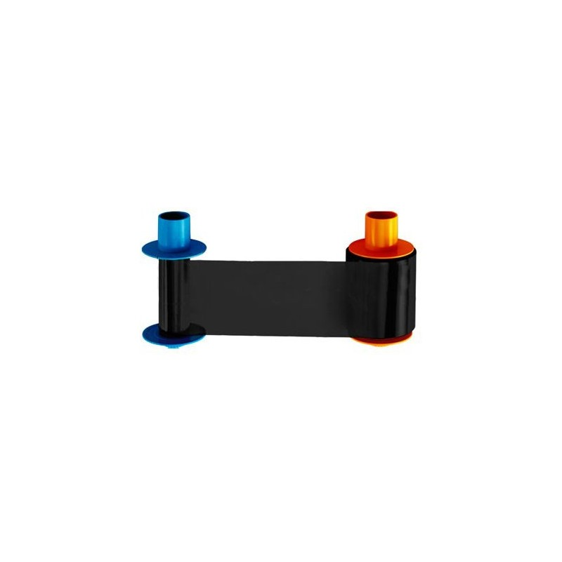 Cartucho con Ribbon BO Dye-sublimation black and clear overlay panel (1250 impresiones)