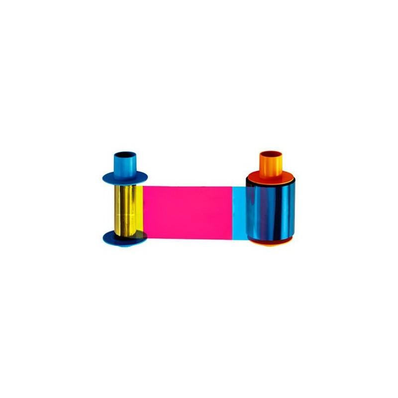 Cartucho de Ribbon YMCKO medio panel + Rodillo de limpieza (850 impresiones)