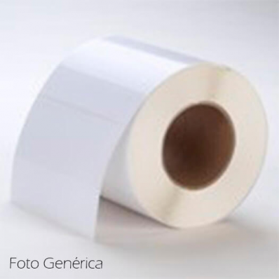 76 x 64 mm POLY White GLOSS Primera Label - 900 etiq - (LX810e/LX900e/LX2000e)