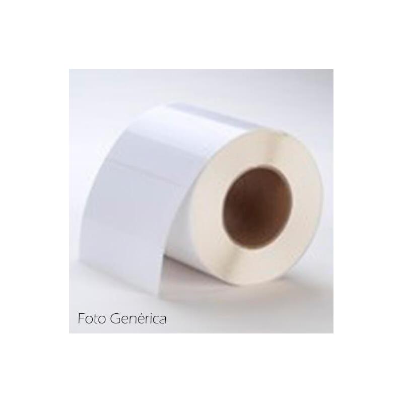 76 x 51 mm POLY White GLOSS Primera Label - 600 etiq - LX200e/LX400e/LX500e