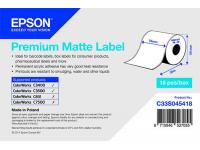 76 x 35 m Premium MATTE Epson Label - Continuo - (C3400 series)