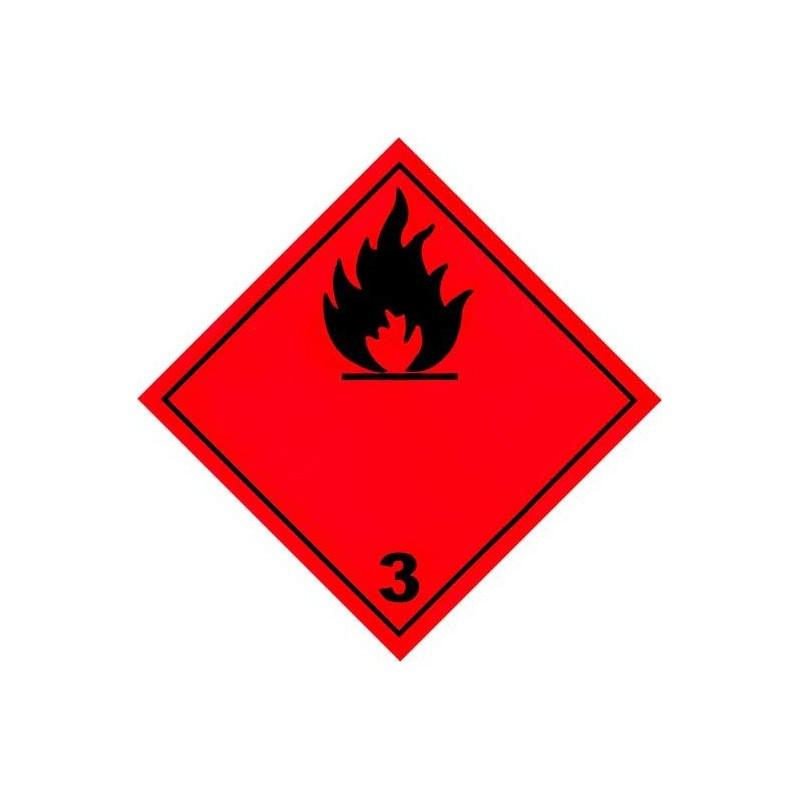 Etiquetas ADR Clase 3 - Líquido Inflamable