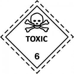 Etiquetas ADR Clase 6 - Mercancía Tóxica
