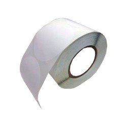 76 x 51 mm POLY White GLOSS Primera Label - 1200 etiq - (LX810e/LX900e/LX2000e)