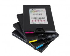 Pack de 5 tintas Color CMYKK VipColor VP750