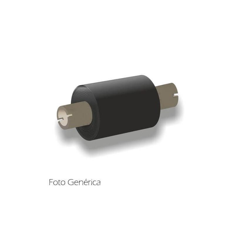 """Caja Ribbon Mixto 64mm x 74m Out 1/2"""" - B128 (Muescas)"""