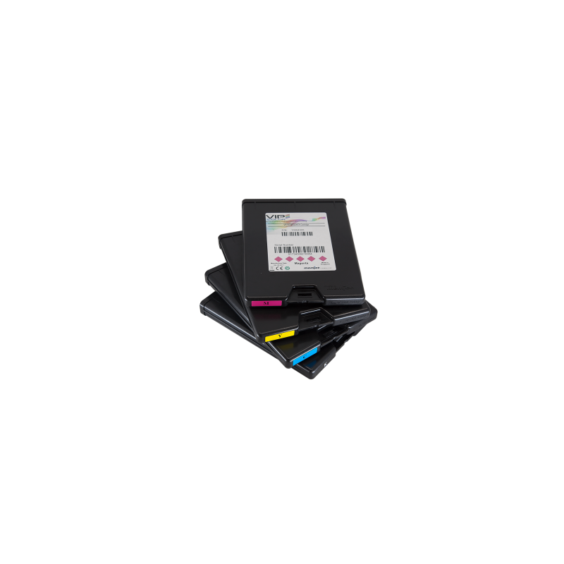 Pack de 5 tintas Color CMYKK VipColor VP600