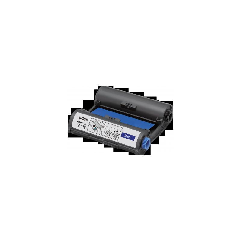 Cinta Epson RC-R1LNA azul 100 mm