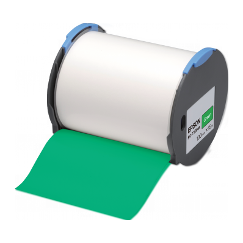 Cinta Epson RC-T1GNA verde 100 mm