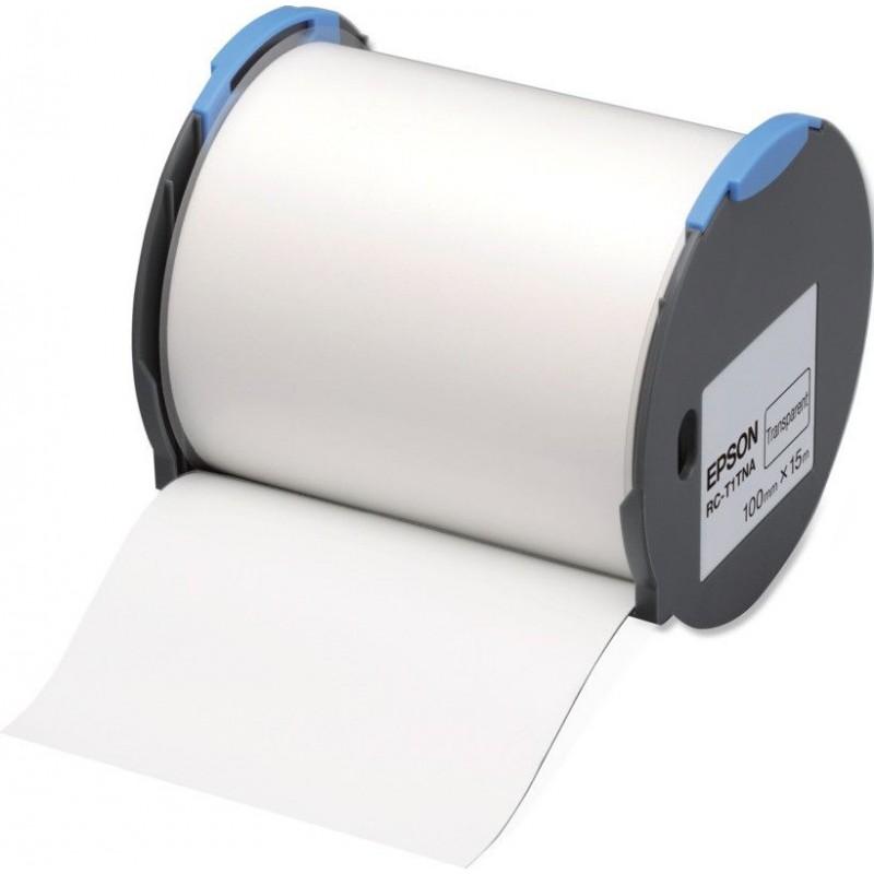 Cinta Epson RC-T1TNA transparente 100 mm
