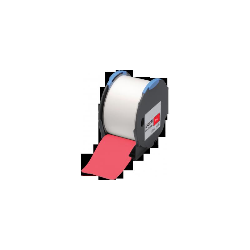 Cinta Epson RC-T5RNA roja 50 mm