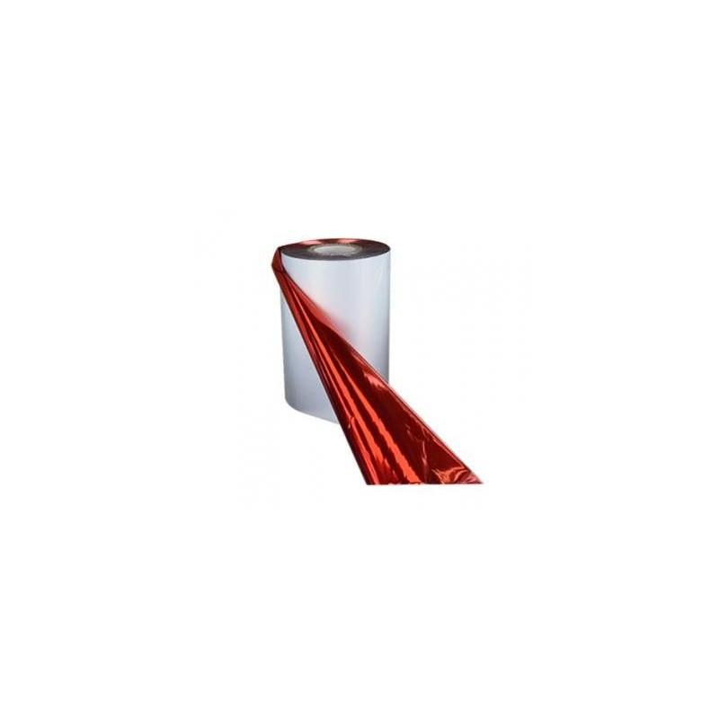 Red Metallic Foil, 110 mm wide x 300 meters