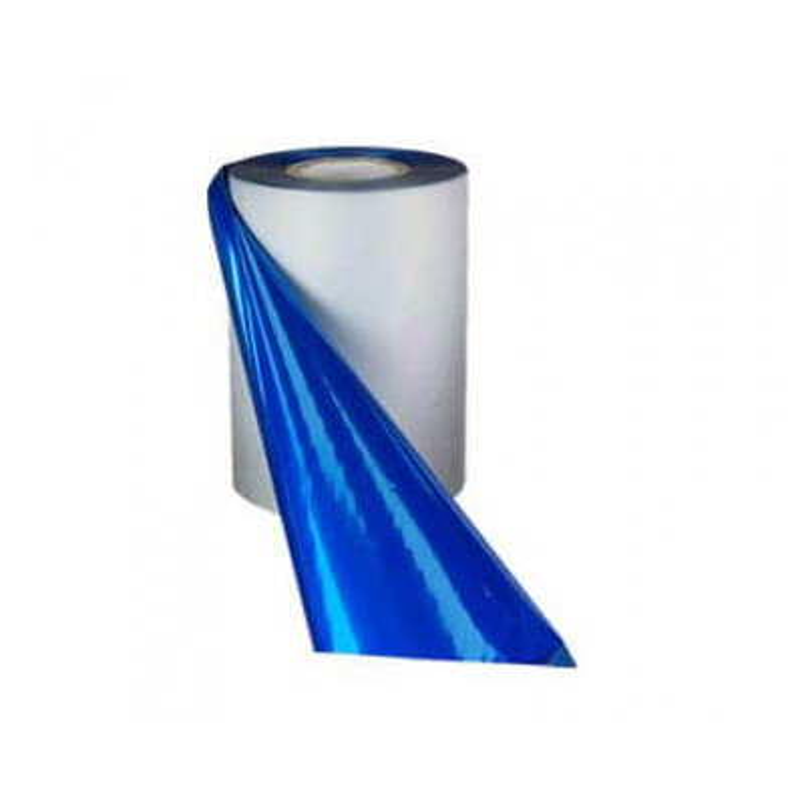 Blue Metallic Foil, 110 mm wide x 300 meters
