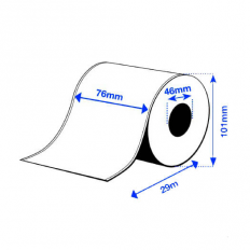 76 x 29 m PE MATTE Epson Label - Continuo - (C3500 series)