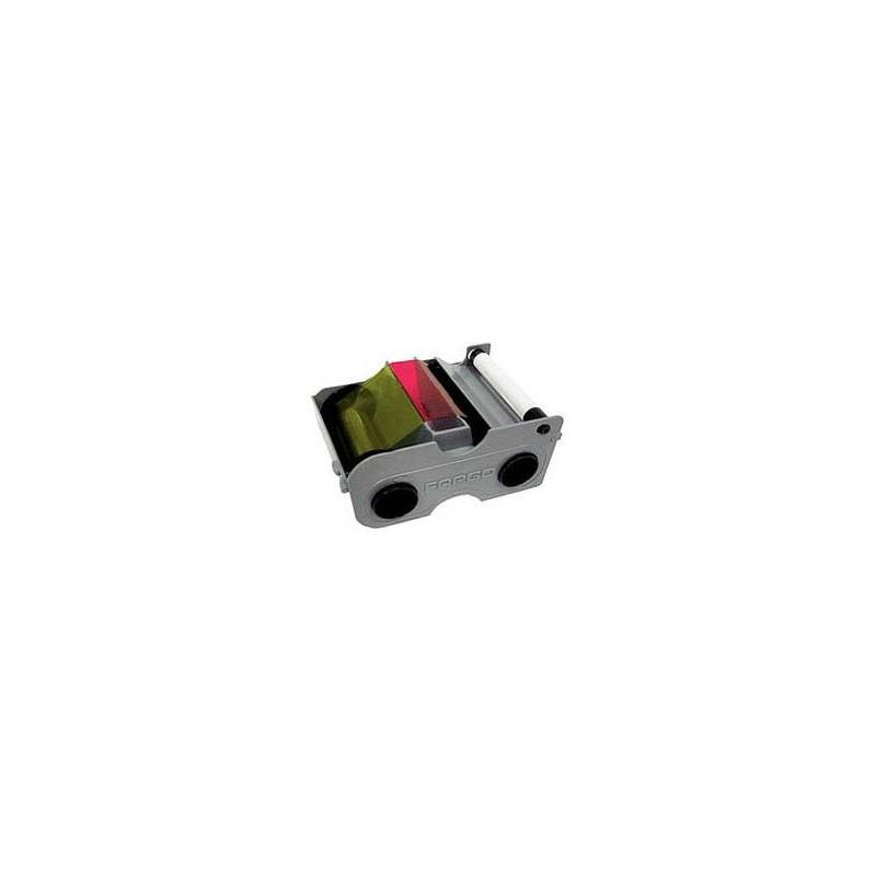 Cartucho con Ribbon - YMCKO-K + Rodillo de limpieza (250 impresiones)