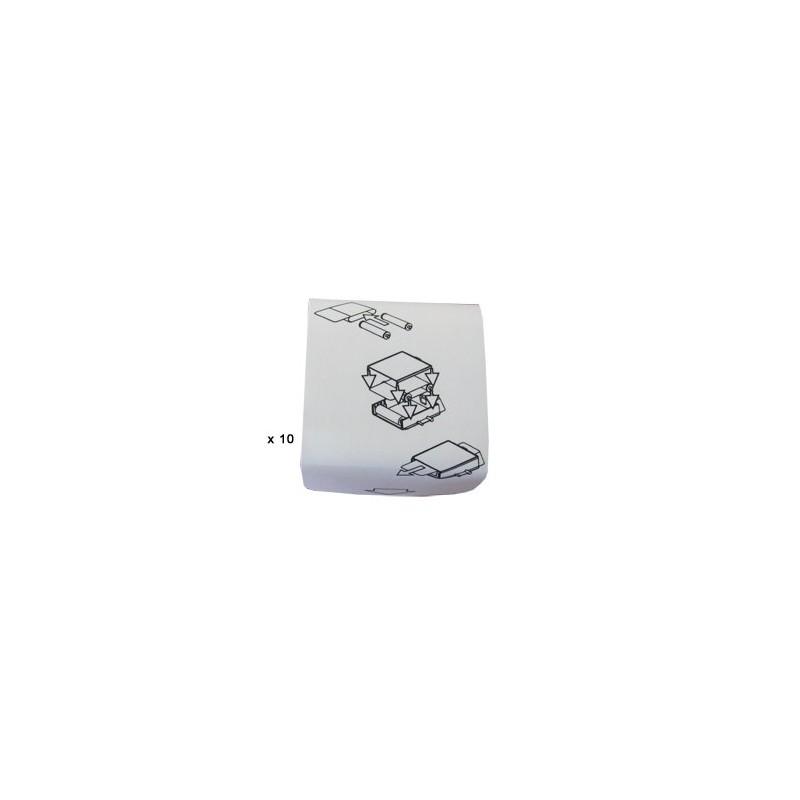 Cinta de limpieza de tarjetas, Pack de 10 (para instalarlo en cartucho de limpieza de tarjetas)