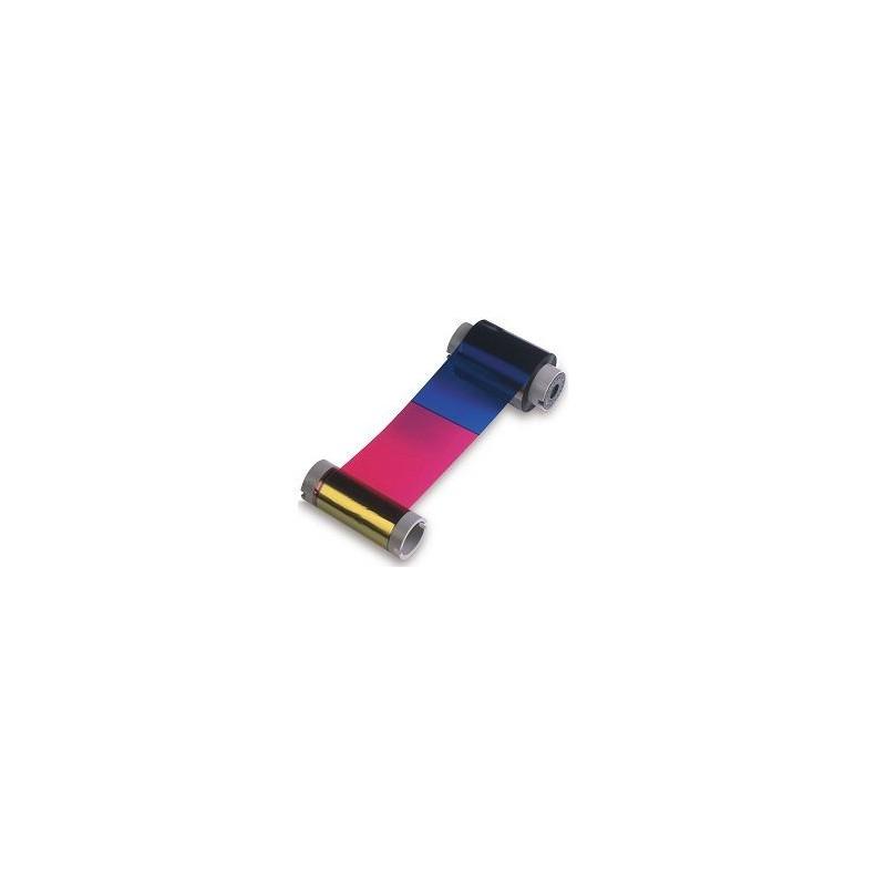 Cartucho con Ribbon - YMCKOK + Rodillo de limpieza (400 impresiones) para DTC550